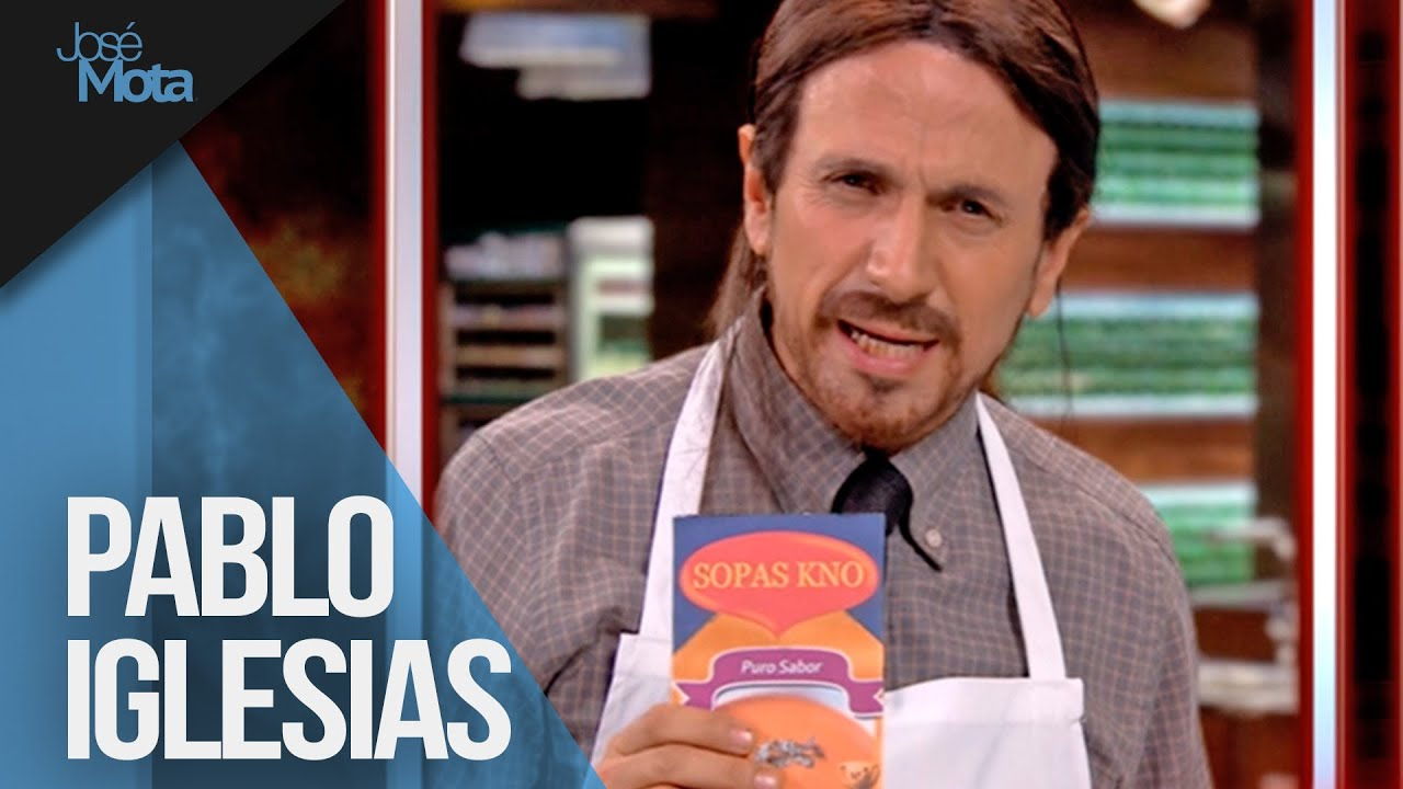 PABLO IGLESIAS ASPIRANTE A MASTER CHEF